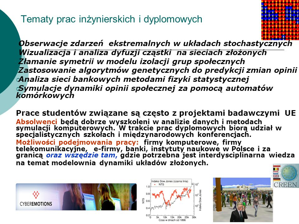 Tematy prac inżynierskich i dyplomowych
