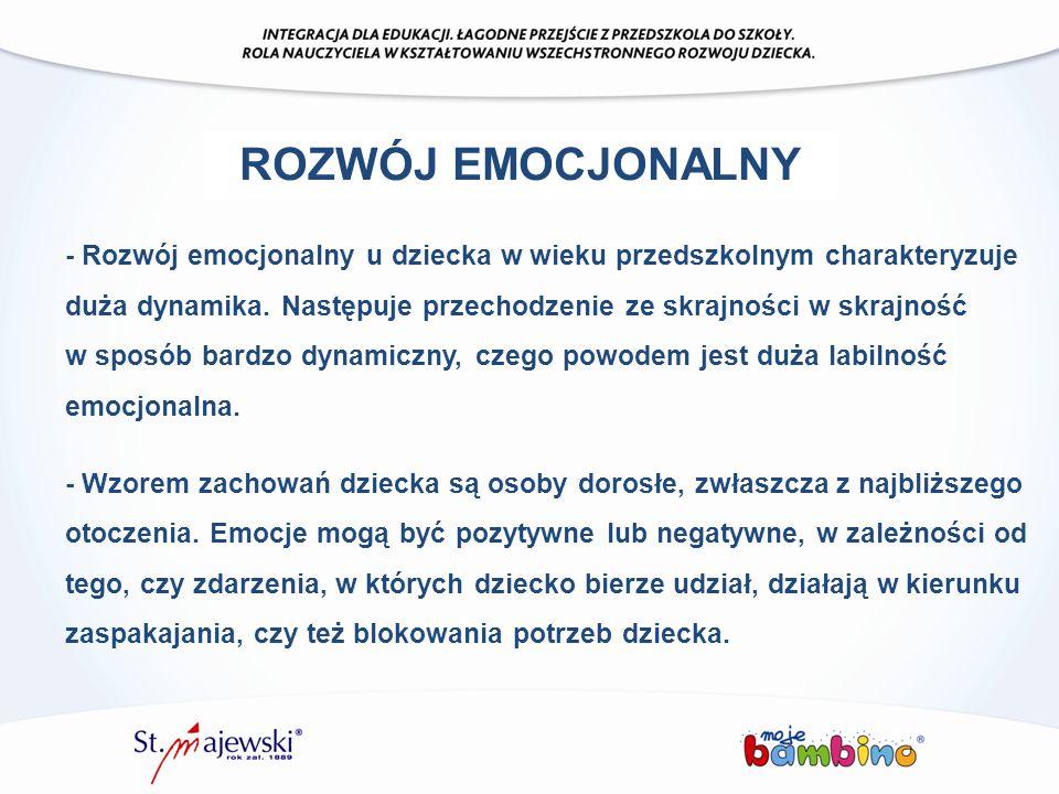 ROZWÓJ EMOCJONALNY