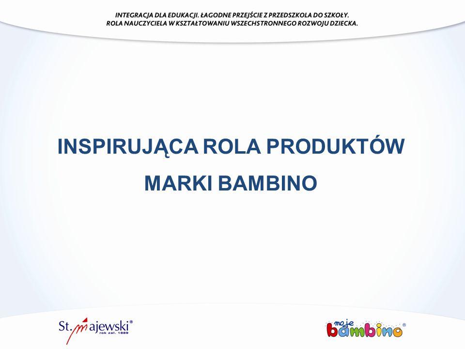 INSPIRUJĄCA ROLA PRODUKTÓW MARKI BAMBINO