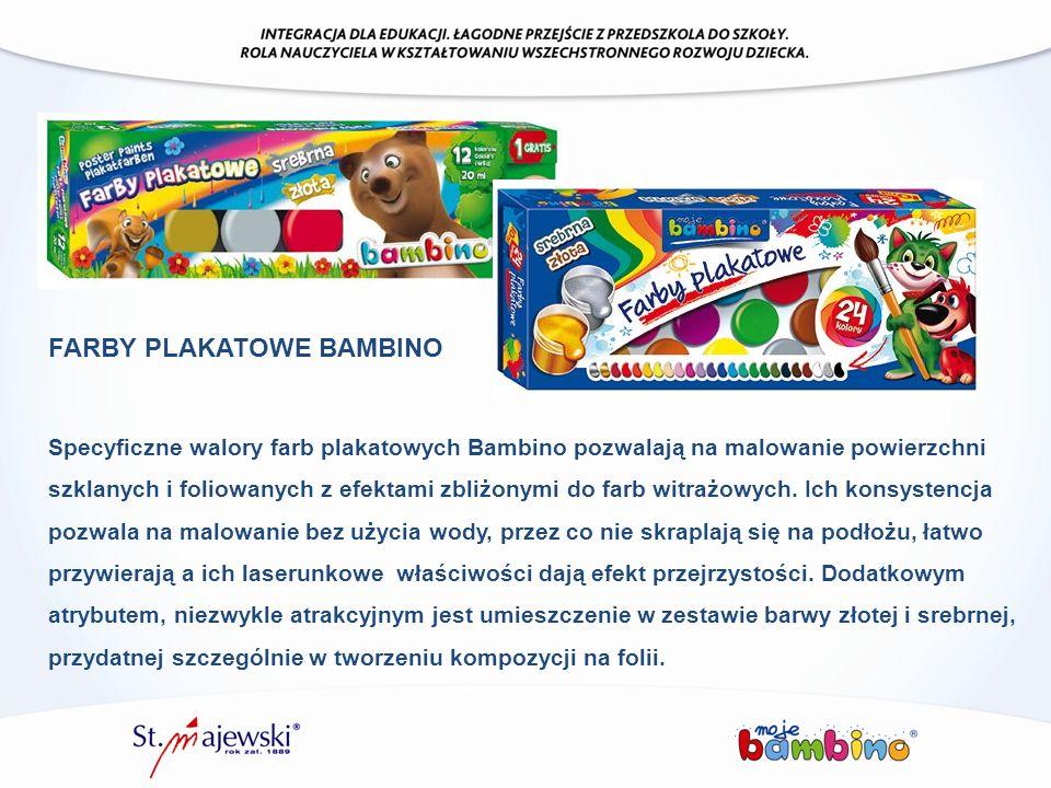 FARBY PLAKATOWE BAMBINO