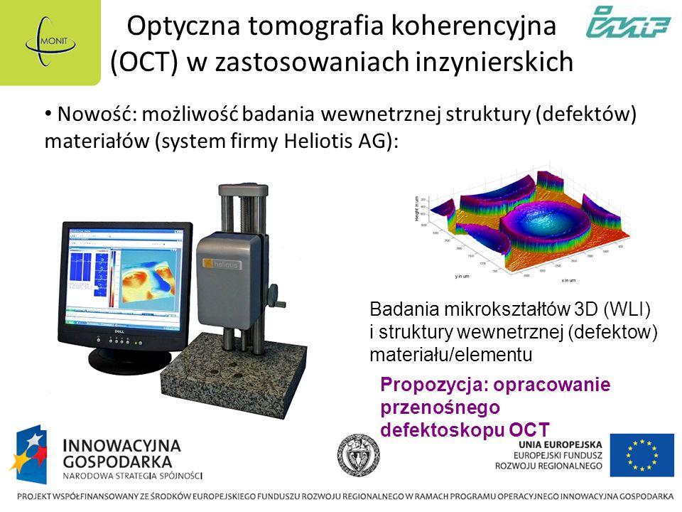 Optyczna tomografia koherencyjna (OCT) w zastosowaniach inzynierskich