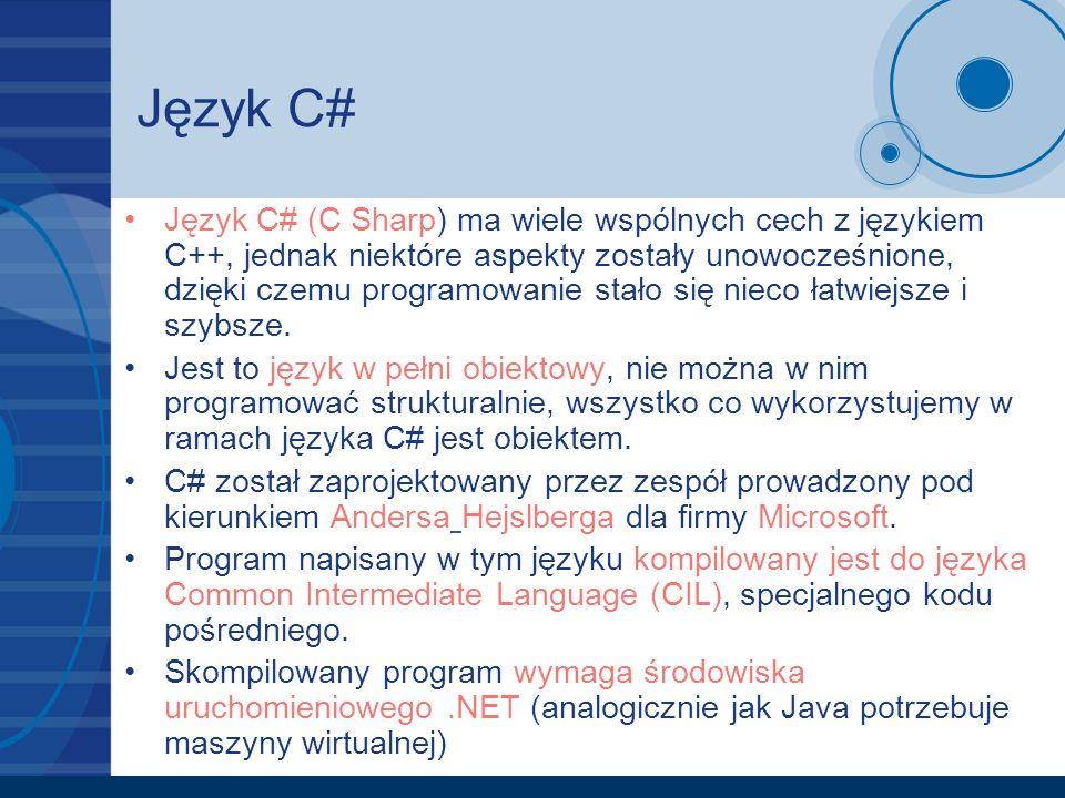Język C#