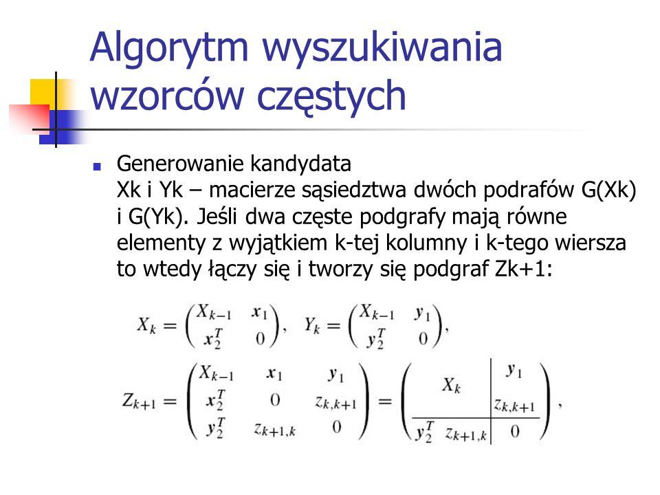 Algorytm wyszukiwania wzorców częstych