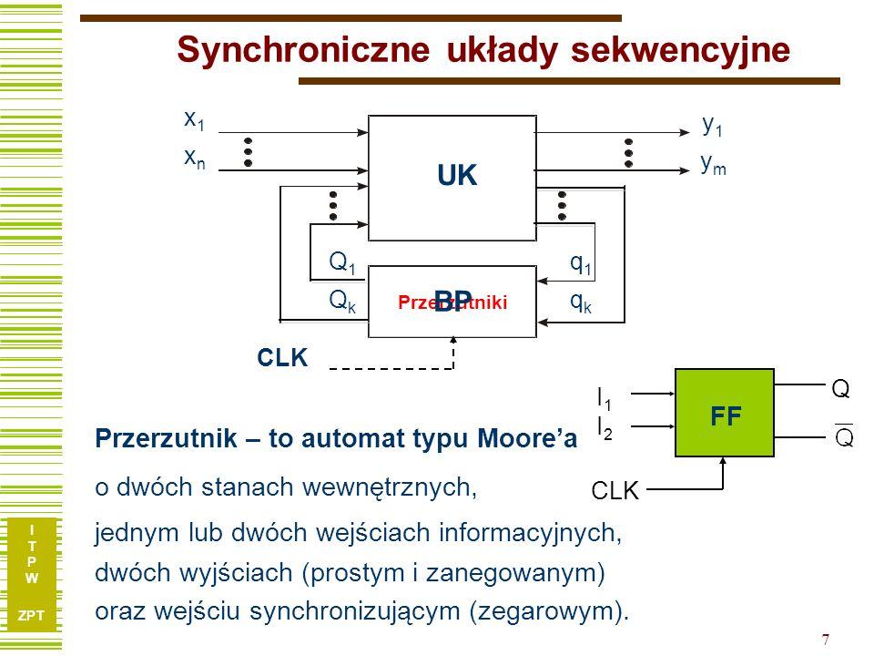 Synchroniczne układy sekwencyjne