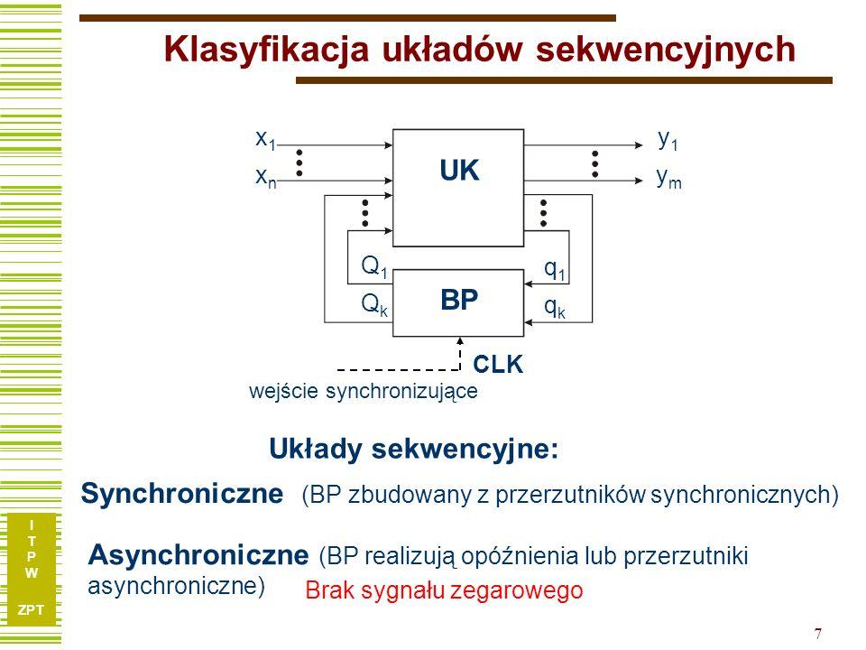 Klasyfikacja układów sekwencyjnych