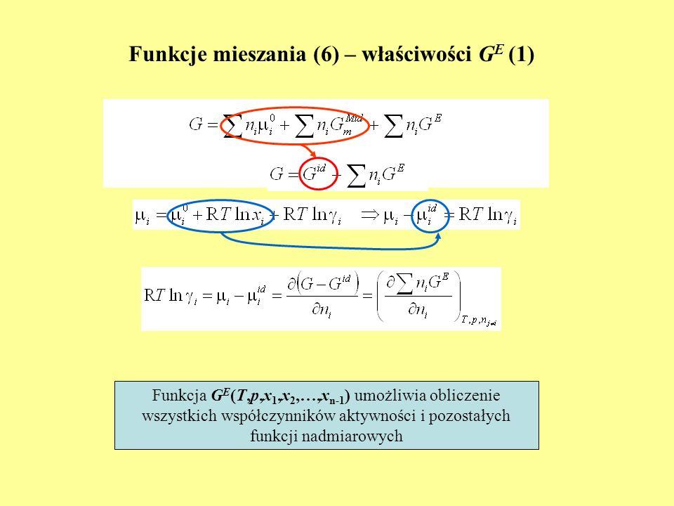 Funkcje mieszania (6) – właściwości GE (1)