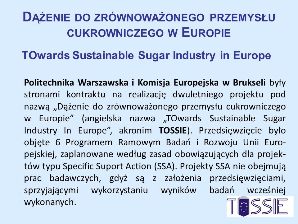 Dążenie do zrównoważonego przemysłu cukrowniczego w Europie
