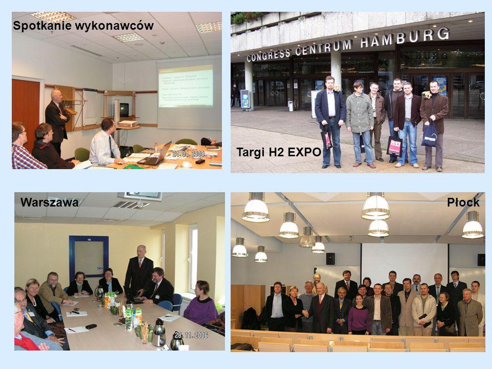 Spotkanie wykonawców Targi H2 EXPO Warszawa Płock