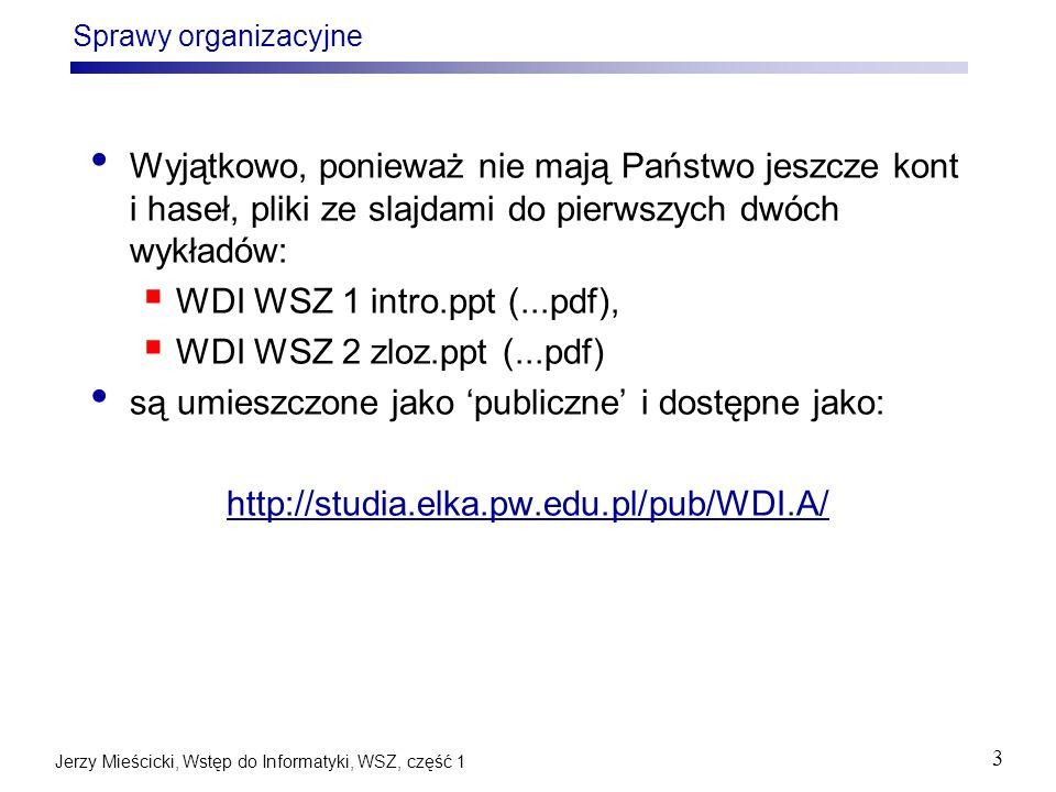 są umieszczone jako 'publiczne' i dostępne jako: