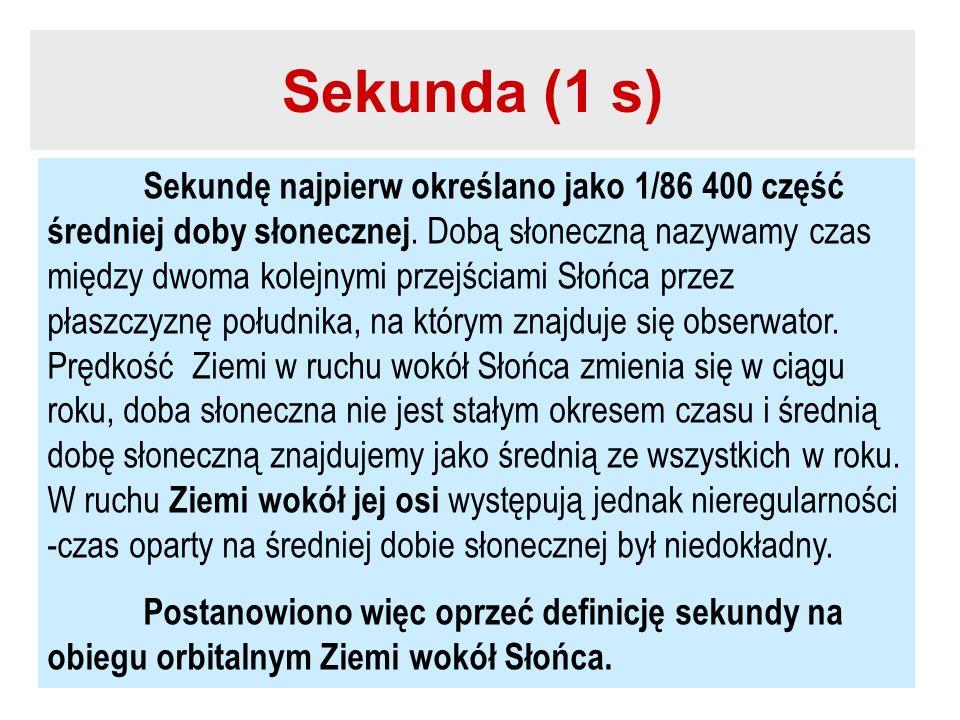 Sekunda (1 s)