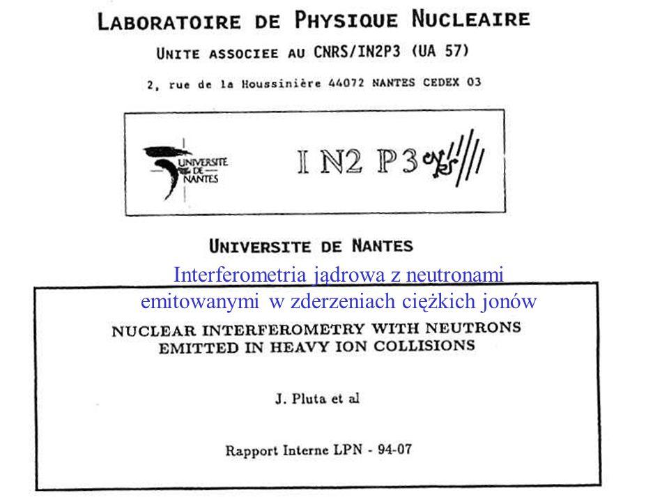 Interferometria jądrowa z neutronami