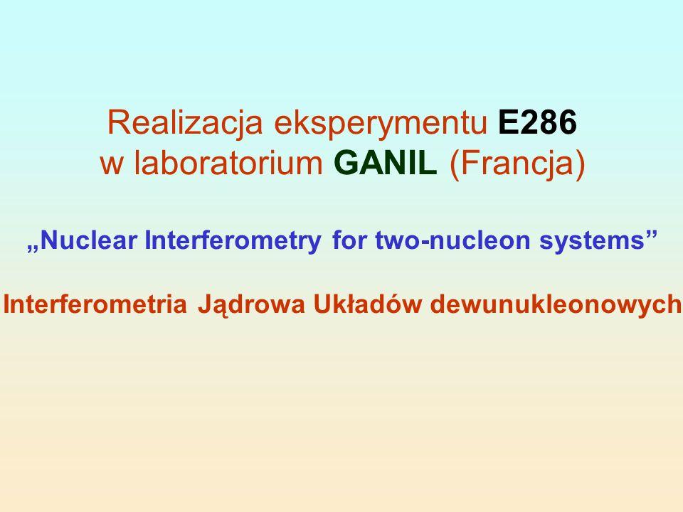 Interferometria Jądrowa Układów dewunukleonowych