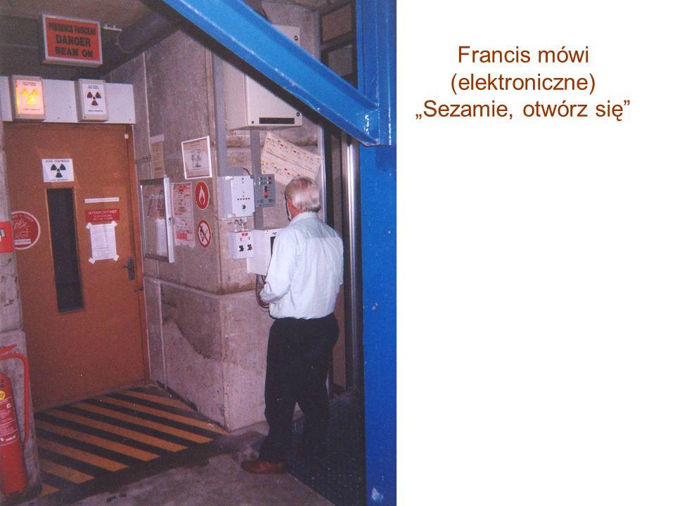 """Francis mówi (elektroniczne) """"Sezamie, otwórz się"""