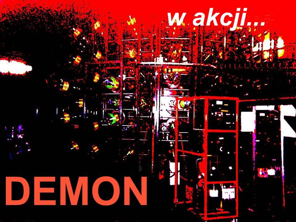 w akcji... Festiwal Nauki' 2003 Jan Pluta, Wydział Fizyki PW DEMON