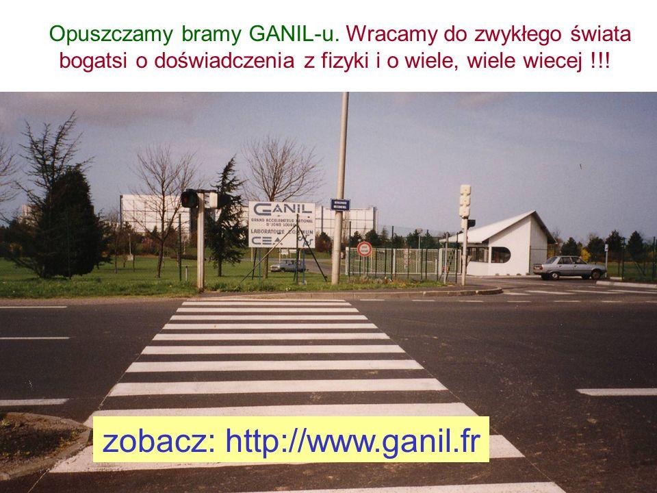 zobacz: http://www.ganil.fr