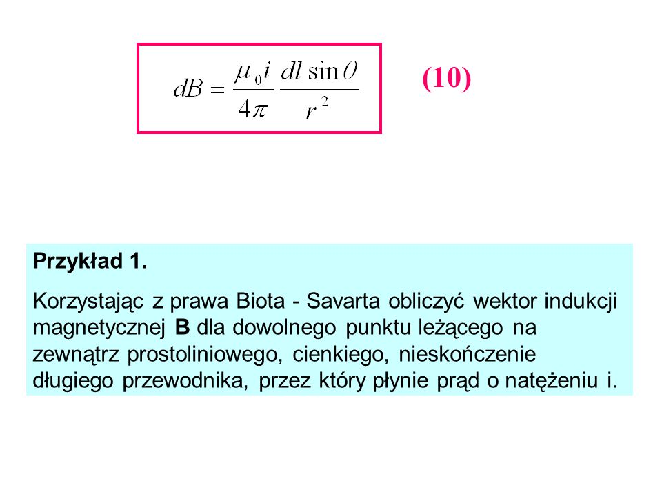 (10) Przykład 1.