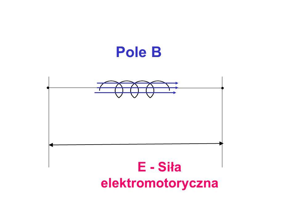 E - Siła elektromotoryczna