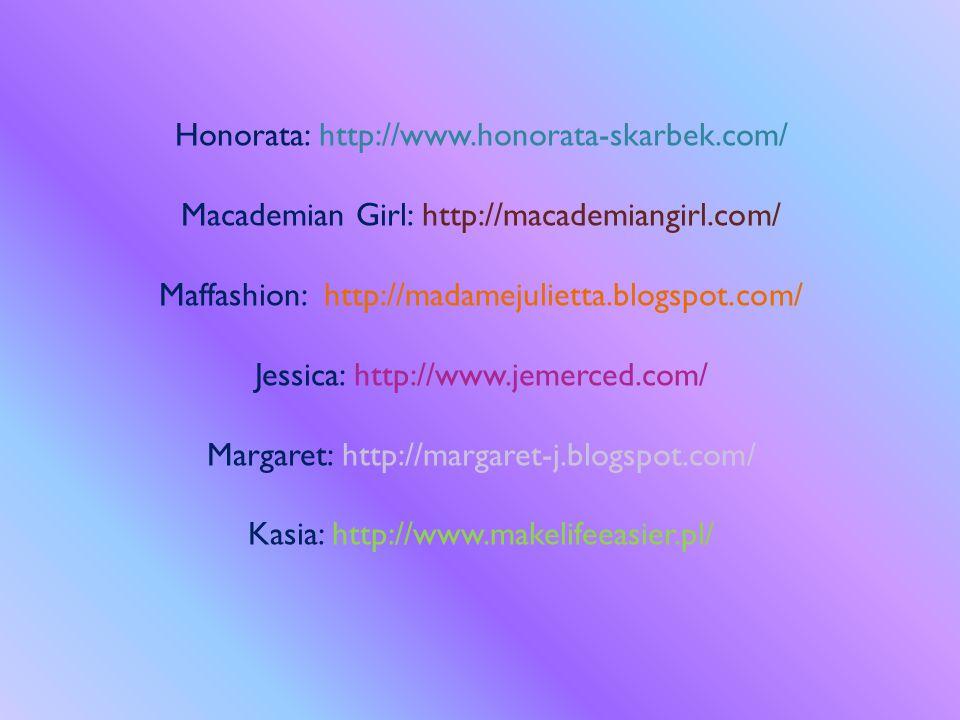 Honorata: http://www. honorata-skarbek