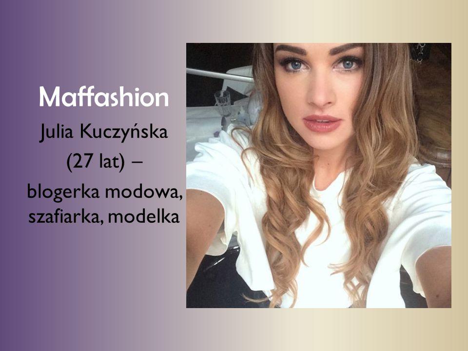blogerka modowa, szafiarka, modelka