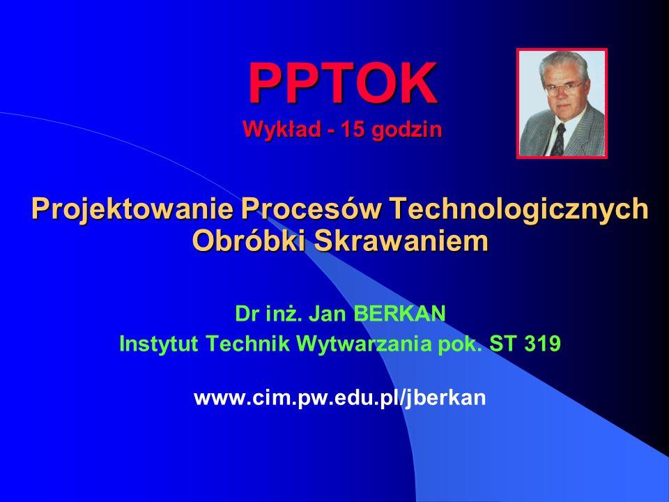 Instytut Technik Wytwarzania pok. ST 319
