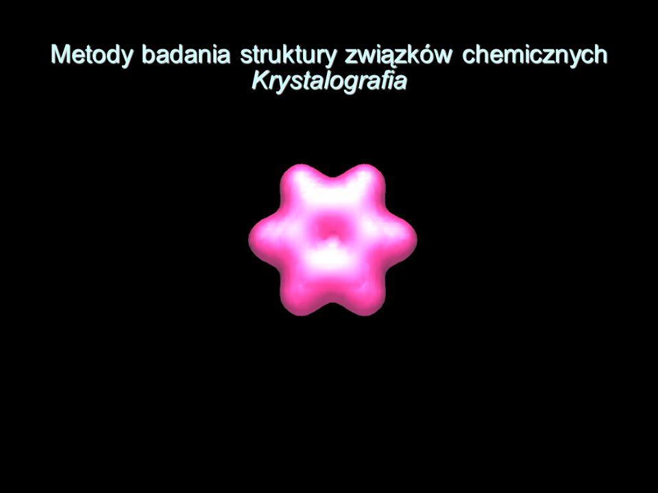 Metody badania struktury związków chemicznych Krystalografia