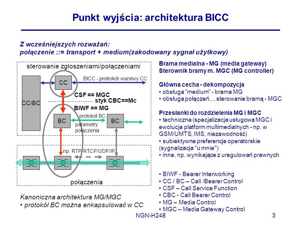 Punkt wyjścia: architektura BICC