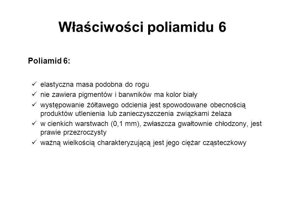 Właściwości poliamidu 6
