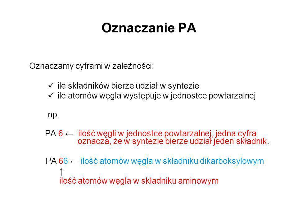 Oznaczanie PA ile składników bierze udział w syntezie