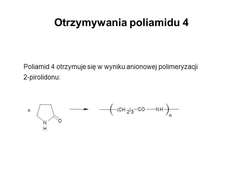 Otrzymywania poliamidu 4