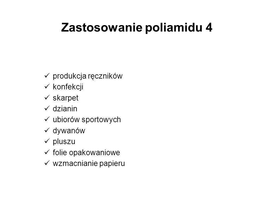 Zastosowanie poliamidu 4