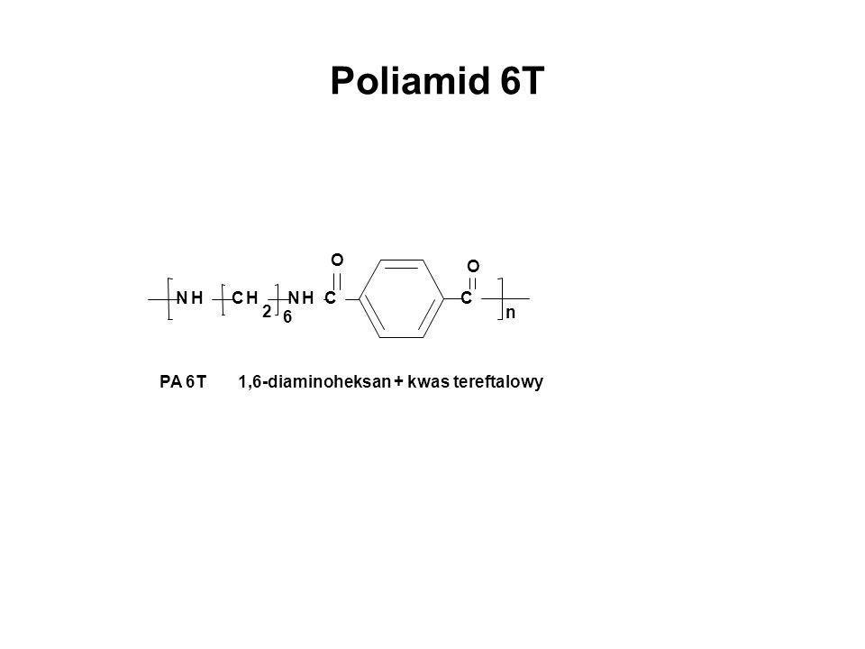 Poliamid 6T N H C 2 n O 6 PA 6T 1,6-diaminoheksan + kwas tereftalowy