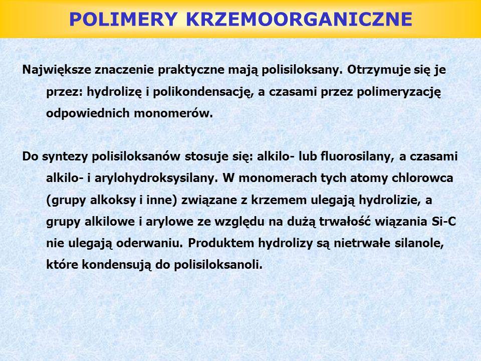 POLIMERY KRZEMOORGANICZNE