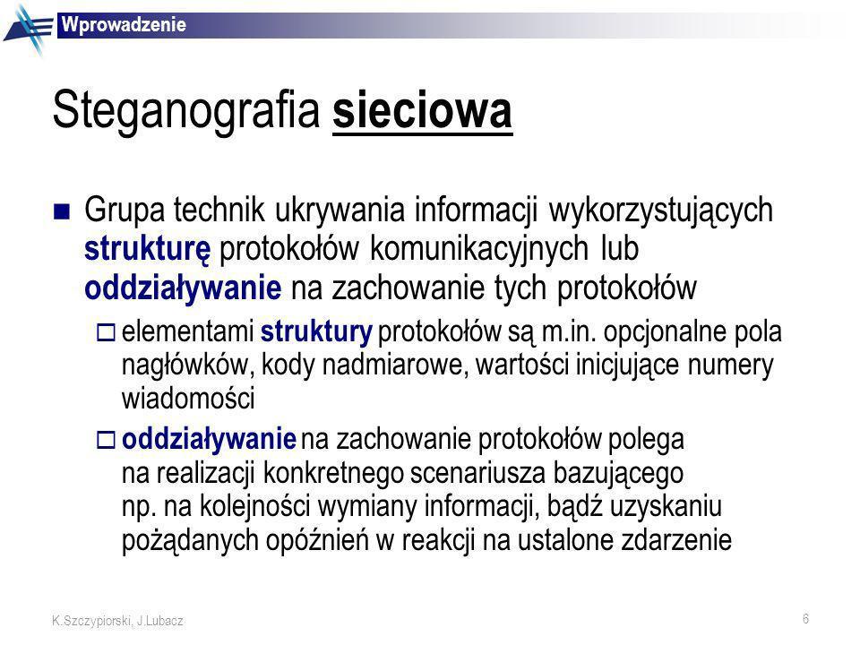 Steganografia sieciowa