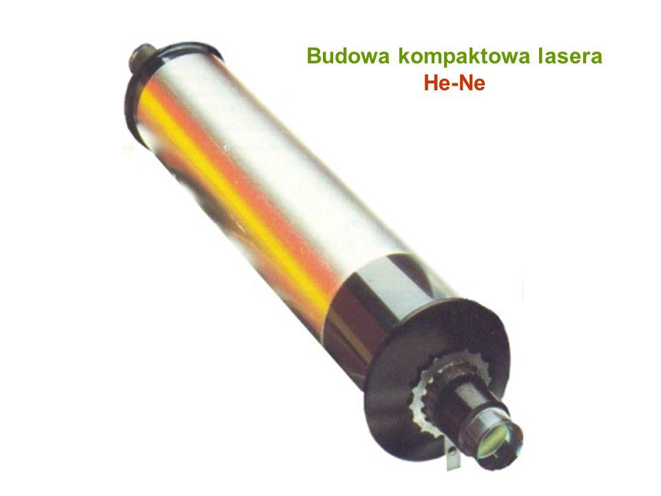 Budowa kompaktowa lasera He-Ne