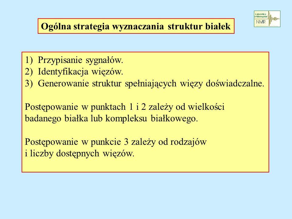 Ogólna strategia wyznaczania struktur białek
