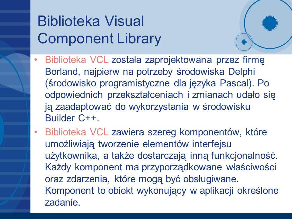 Biblioteka Visual Component Library
