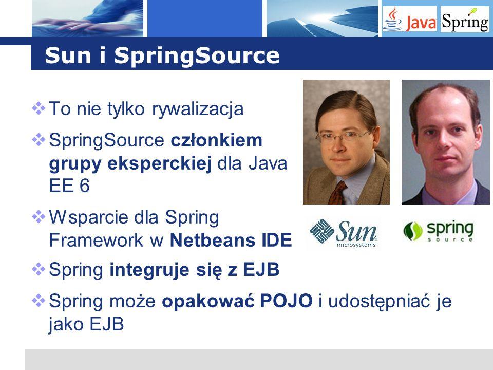 Sun i SpringSource To nie tylko rywalizacja