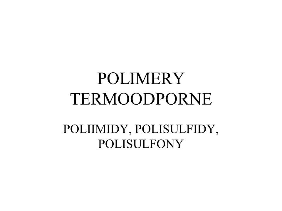 POLIMERY TERMOODPORNE