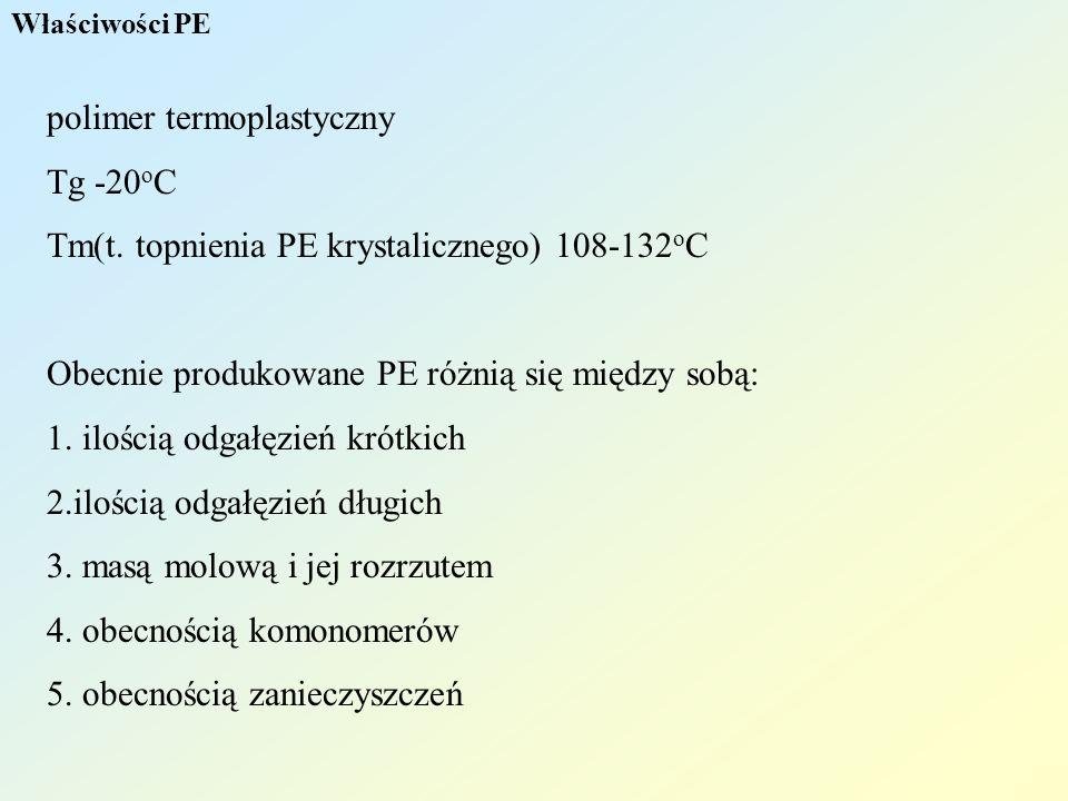 polimer termoplastyczny Tg -20oC
