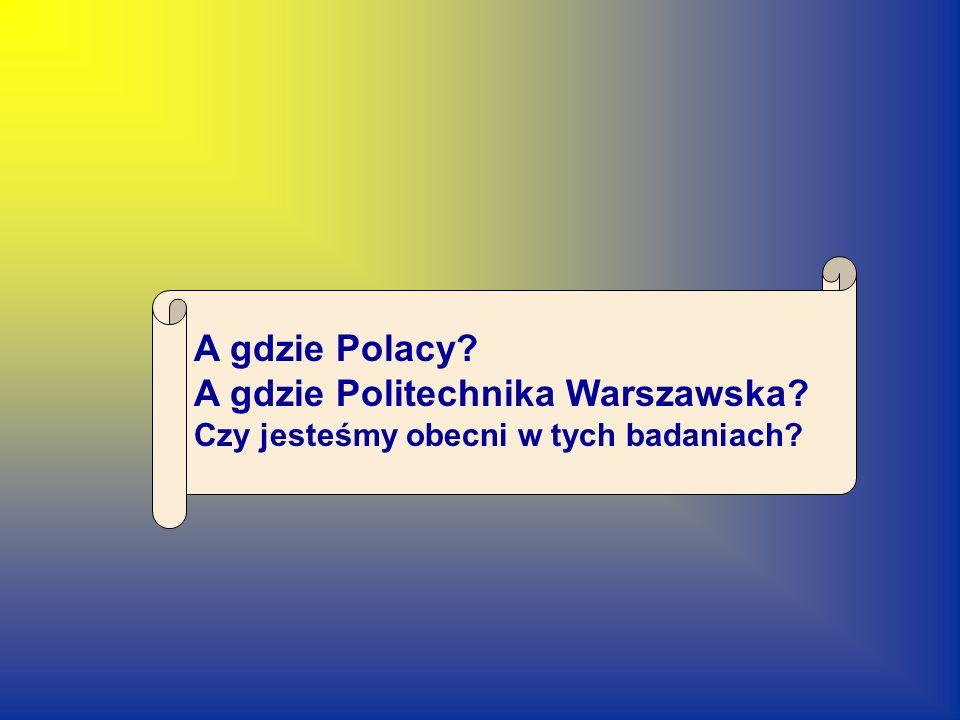 A gdzie Politechnika Warszawska