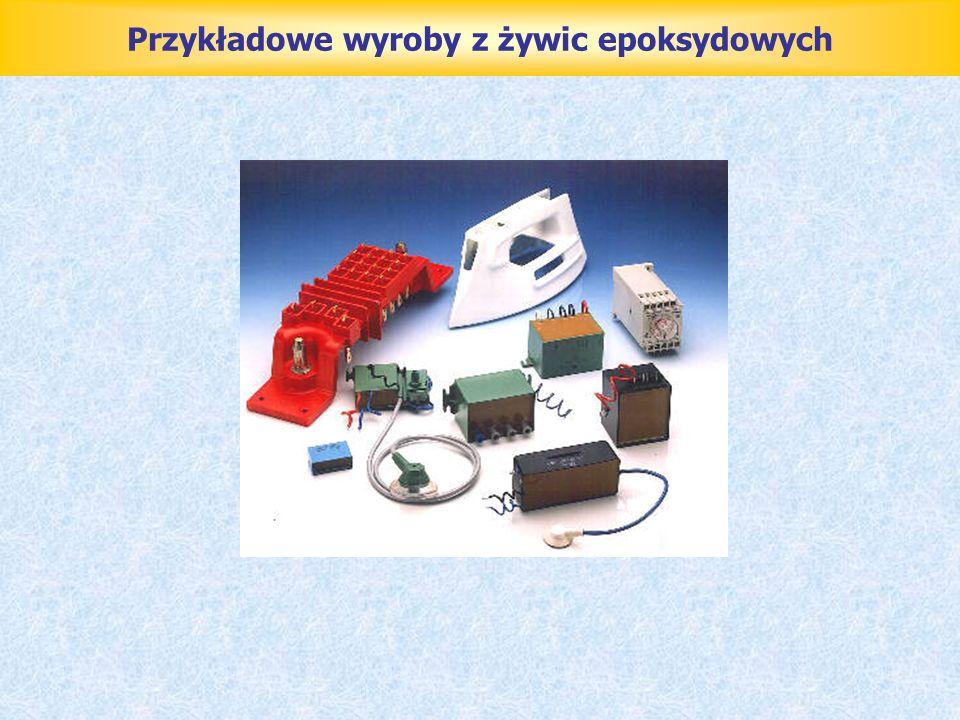 Przykładowe wyroby z żywic epoksydowych
