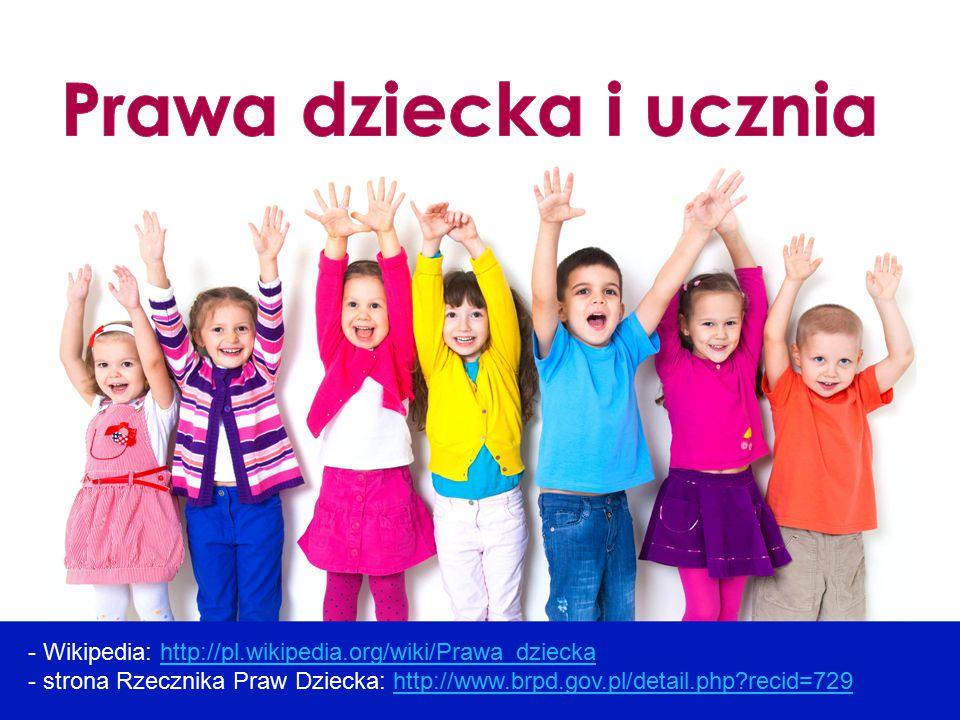 Prawa dziecka i ucznia
