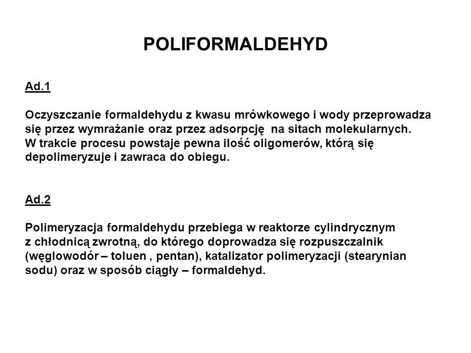 POLIFORMALDEHYD Ad.1.