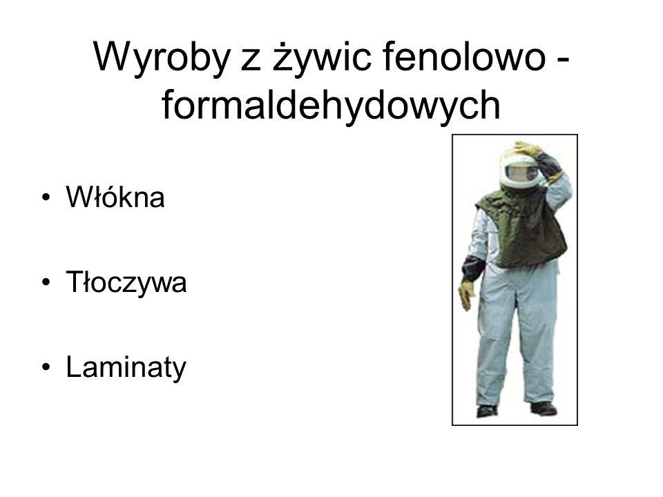 Wyroby z żywic fenolowo - formaldehydowych