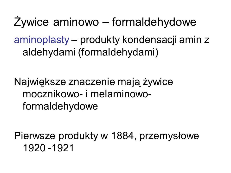 Żywice aminowo – formaldehydowe