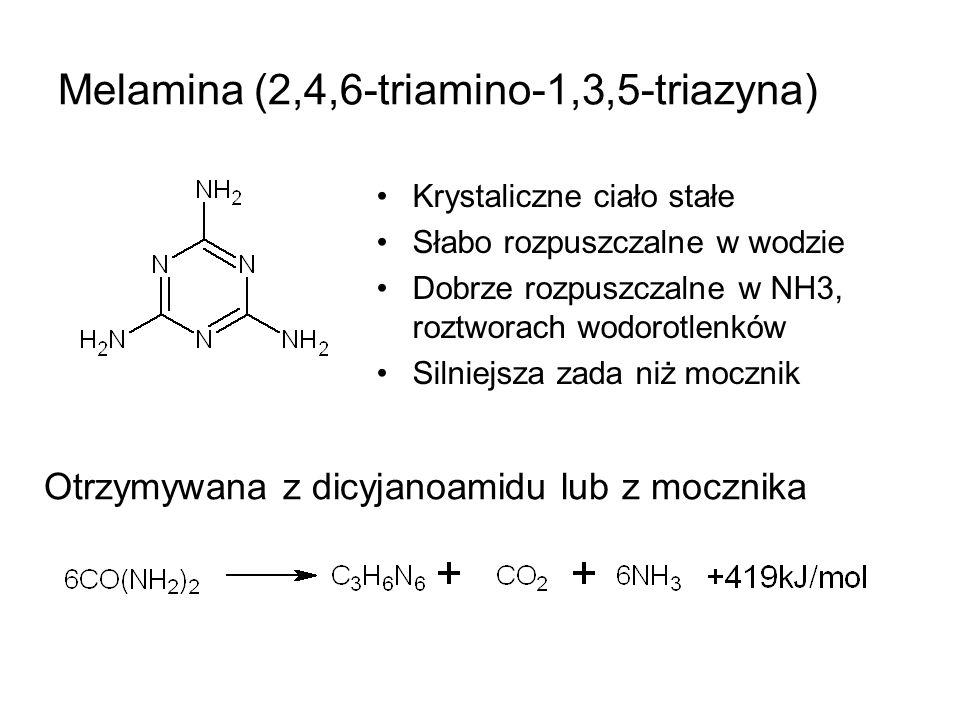 Melamina (2,4,6-triamino-1,3,5-triazyna)