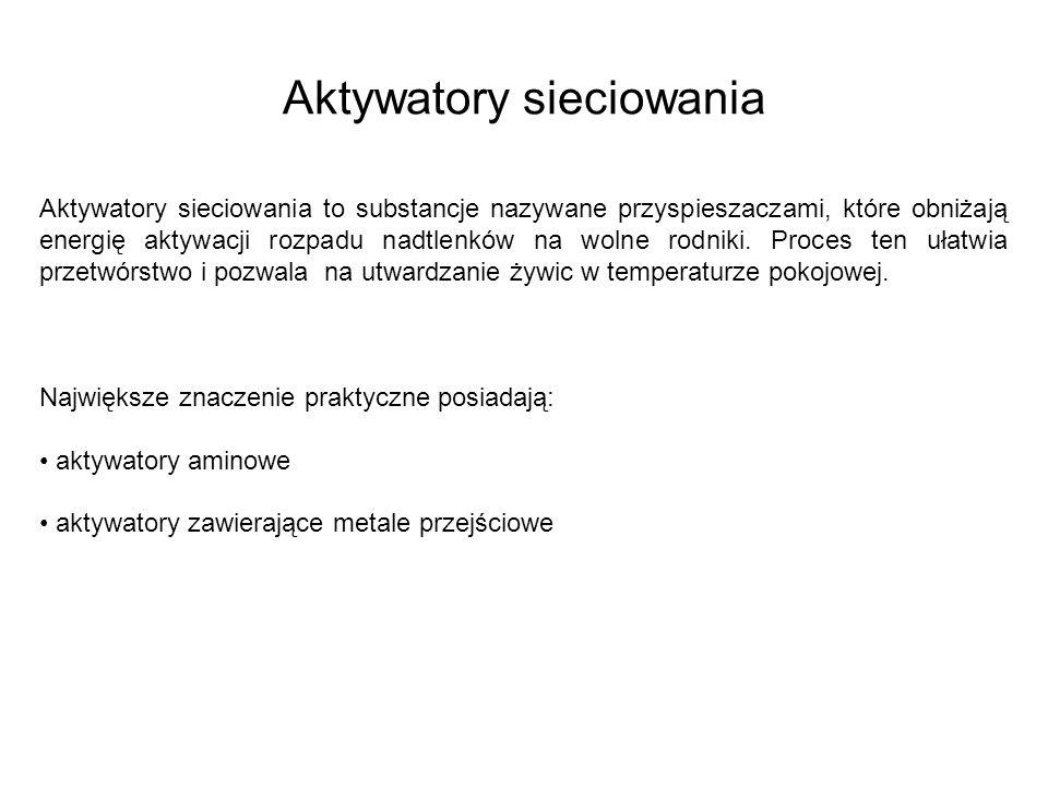 Aktywatory sieciowania
