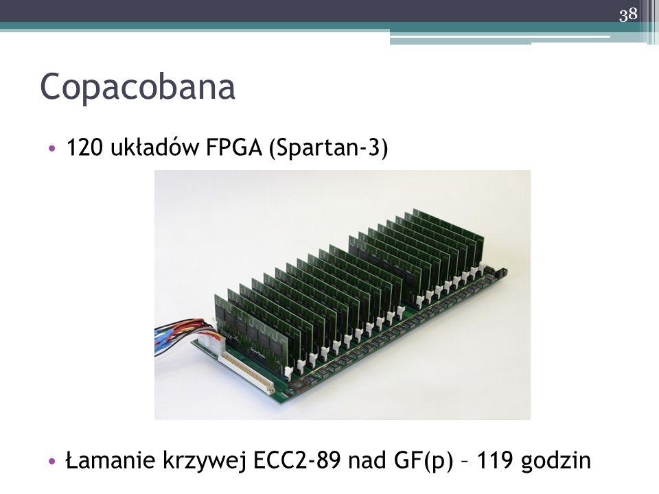 Copacobana 120 układów FPGA (Spartan-3)