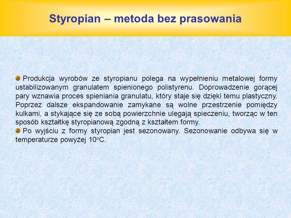 Styropian – metoda bez prasowania