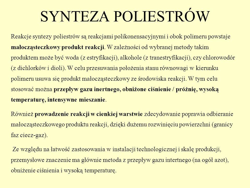 SYNTEZA POLIESTRÓW